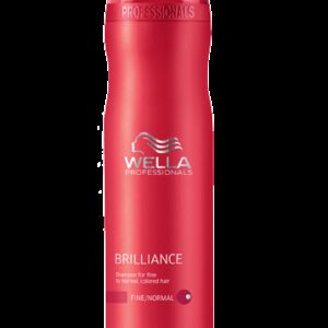 Shampooing Brilliance Cheveux fins à normaux Wella 250 ml