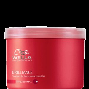 Masque Brilliance cheveux colorés fins à normaux Wella 500 ml