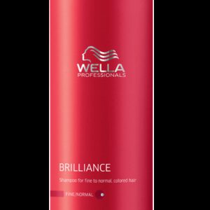 Shampooing Brilliance cheveux fins à normaux Wella 1000 ml