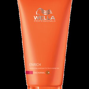 Conditionneur Cheveux Fins Enrich Wella 200 ml