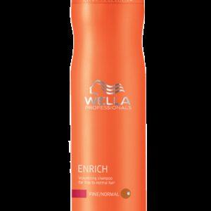 Shampooing Enrich cheveux Fins Wella 250 ml
