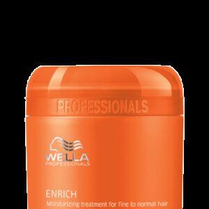 Masque Cheveux Fins Enrich Wella 150 ml