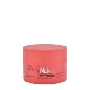 Masque Brilliance pour cheveux colorés épais Wella 150 ml