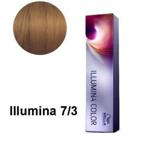 Coloration Illumina 7/3 Blond doré Wella