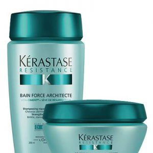 Duo Bain et Masque Force Architecte Kerastase