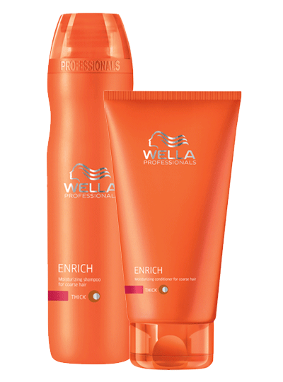 Duo Shampooing et Conditionneur brilliance cheveux fins Wella